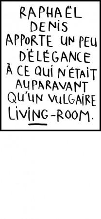 Listes et commentaires, Raphaël Denis